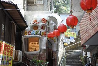 台湾 九份のオカリナショップの写真・画像素材[938322]