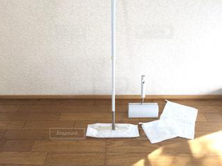 木製テーブルの写真・画像素材[1488600]