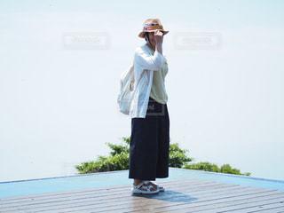 琵琶湖テラスにての写真・画像素材[1329721]