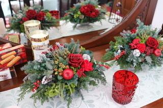 クリスマスの暖炉の写真・画像素材[2836144]