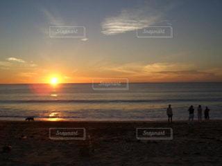 自然,風景,海,空,屋外,太陽,夕暮れ,水面,海岸,景色,観光,旅行,夕陽,海外旅行,インドネシア,日中,バリ