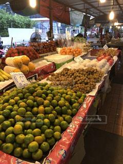 タイの市場の写真・画像素材[1502078]