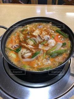 寒い日には韓国鍋でしょ!の写真・画像素材[1718227]