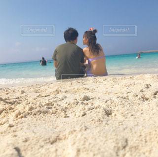 沖縄の海の写真・画像素材[1583902]