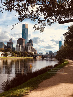 建物,海外,都会,オーストラリア,川沿い,メルボルン