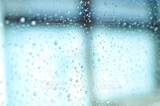 雨,青,窓,水滴,車窓,rain,インスタ映え,水滴フォト