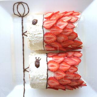 こいのぼりケーキの写真・画像素材[3981938]