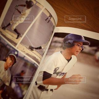 野球少年の記録の写真・画像素材[4282447]