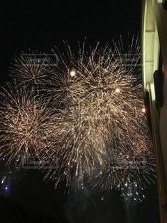 夜花火の写真・画像素材[1333522]