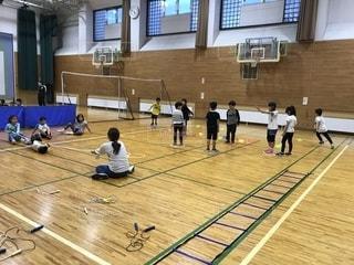 スポーツ,屋内,人,体育館,小学生,習い事,体操教室,運動遊び