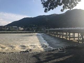 嵐山 渡月橋の写真・画像素材[1666752]