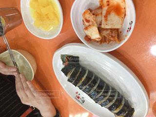 韓国朝ごはんの写真・画像素材[1667324]