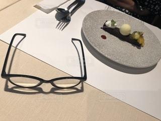食後のデザートの写真・画像素材[1667967]