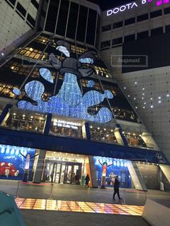 風景,建物,冬,アート,韓国