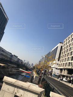 風景,空,冬,屋外,都会,旅行,韓国