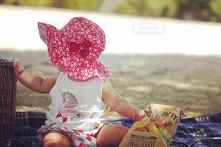 赤ちゃんの手の写真・画像素材[1334132]
