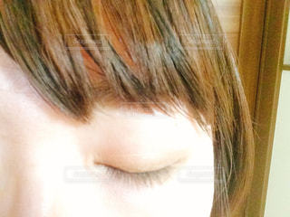 目のアップの写真・画像素材[1764129]
