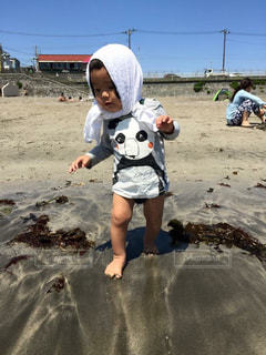 海,空,夏,ビーチ,砂浜,海岸,日中,夏バテ,熱中症,暑さ,熱中症対策