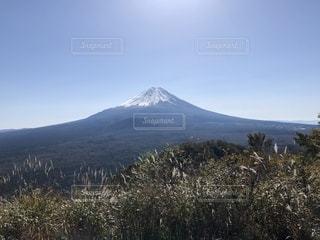 空,富士山,山,快晴,ポジティブ,トレイルランニング