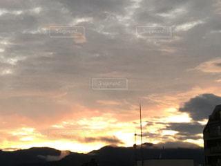 風景,雲,夕焼け空,秋の空,八王子の空