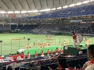 野球観戦!東京ドーム!の写真・画像素材[1338360]
