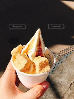 ソフトクリームの写真・画像素材[1353223]