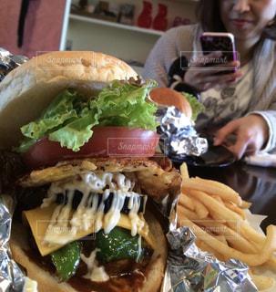 ご当地ハンバーガーの写真・画像素材[1641360]