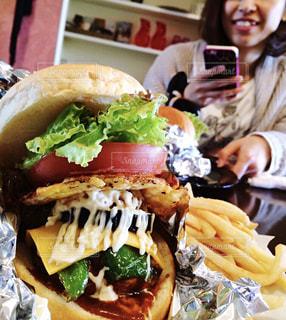 ご当地ハンバーガーの写真・画像素材[1643682]