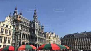 ベルギー グランプラス広場の写真・画像素材[1830869]
