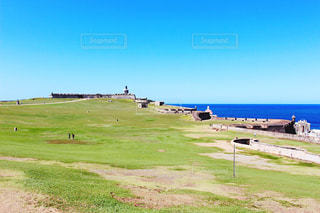 プエルトリコ サンフェリペデルモロ要塞の写真・画像素材[1848951]