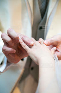 結婚式 指輪交換の写真・画像素材[1878236]