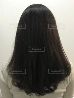 女性の髪の毛の写真・画像素材[2303827]