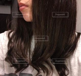 女性の髪の毛の写真・画像素材[2307498]