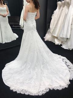 ウェディングドレスを着た花嫁の写真・画像素材[2331630]