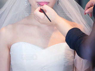 結婚式ヘアメイクの写真・画像素材[2879209]