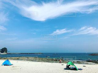 自然,海水浴,ビーチ,夏休み