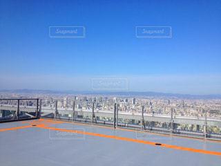 大阪・あべのハルカス・屋上ヘリポートの写真・画像素材[1366117]