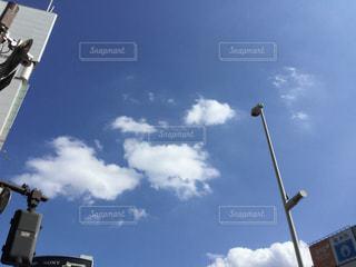 初秋の空の写真・画像素材[2445933]