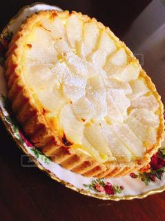 梨,タルト,お菓子,食欲の秋