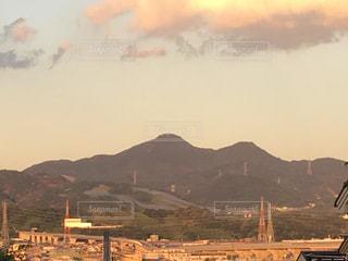 ふるさとの山の写真・画像素材[1393427]