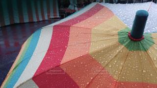 雨,傘,虹,レインボー,梅雨