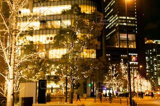 建物,夜,屋外,樹木,イルミネーション,都会,グランフロント大阪,シャンパンゴールド