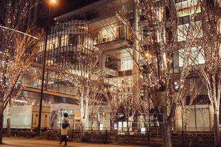 建物,屋外,大阪,イルミネーション,都会,ショッピング,シャンパンゴールド
