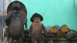 熊の像の写真・画像素材[1376160]