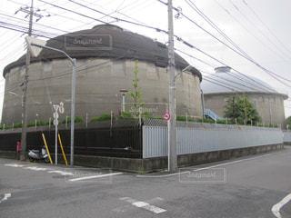 大田区西馬込に50年以上前からある水道タンクです。の写真・画像素材[1397490]