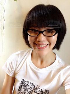 メガネっ子の写真・画像素材[1369766]