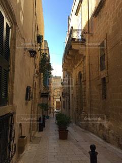マルタの街からの青空の写真・画像素材[1362928]