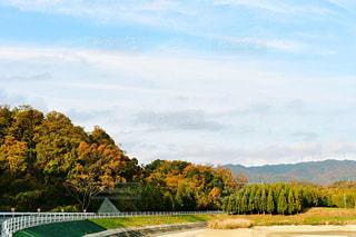 紅葉の山々の写真・画像素材[1654056]