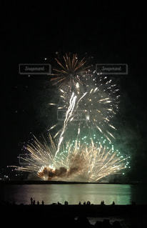 海の花火大会ですの写真・画像素材[1347944]