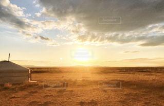 自然,太陽,朝日,草原,朝焼け,旅,日の出,始まり,新しい一日